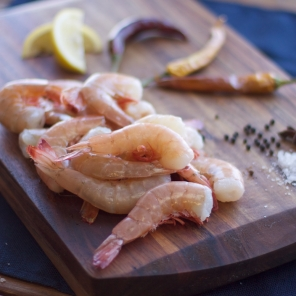 Large Gulf Shrimp, Peeled & De-veined